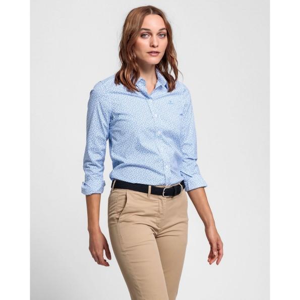 Perfeita para usar com blazers ou sweatshirts, as nossas camisas em popelina com elastano são um clássico da GANT.