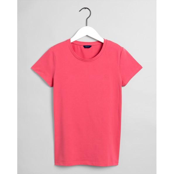Com um ajuste flexível e fácil de usar, a camiseta Stretch Cotton Crew é criada para ser a base do seu guarda-roupa moderno.
