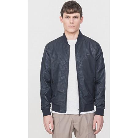 Jaqueta de couro de Antony Morato MMCO00616 FA210045 masculino em preto Imitação de couro envelhecido