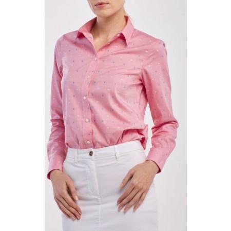 Leve e perfeita para a primavera, a camisa Fil Coupé Flower é uma atualização muito necessária para o seu guarda-roupa.