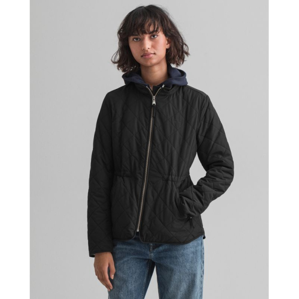 GANT_Blusao D1 QUILTED FITTED JACKET 4700127_Lojas Tavares_Viseu