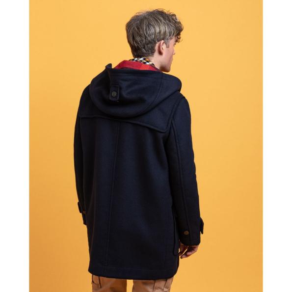 51543-Blusão Comprido em lã da GANT – Mod. 7006090-Marinho-2