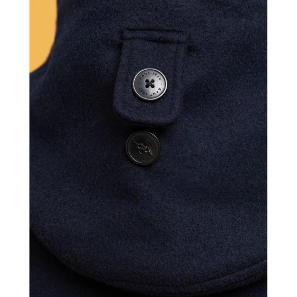51543-Blusão Comprido em lã da GANT – Mod. 7006090-Marinho-4