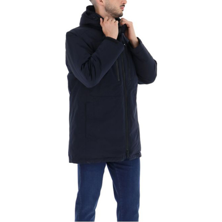 Paul & Shark_MENS WOVEN 3 4 COAT CW POLYESTER I20P2315_Lojas Tavares