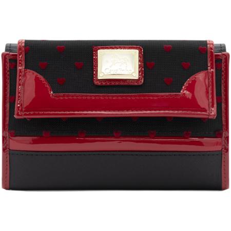 Carteira de senhora Cavalinho Endless Love - Ref 28890202. Em pele genuína com 2 divisórias. Espaço para quinze cartões e compartimento fechado para notas.