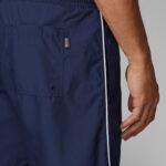 Calções de banho desportivos com o logotipo da BOSS, em tecido macio e de secagem rápida.Este calção de banho de comprimento médio.