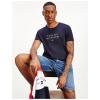 T-Shirt Tommy Hilfiger FLAG TEE MW0MW17663 100% algodão