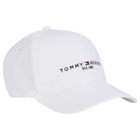 Boné Tommy Hilfiger mantenha-se discreto e confortável com este boné de beisebol de algodão, com o icônico logotipo Tommy Hilfiger na frente.