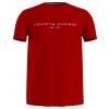 T-Shirt Tommy Hilfiger LOGO TEE Refercencia MW0MW11797. um cassico da Tommy subtil e pratico para usar no verao, em 100% algodao