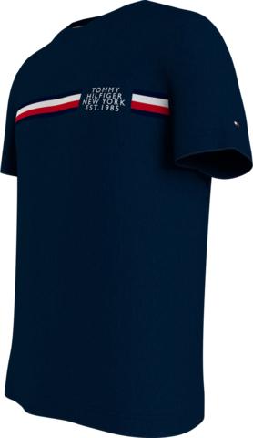 T-shirt manga curta Tommy Hilfiger CORP SPLIT TEE MW0MW16592