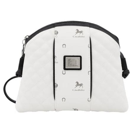 """Bolsa Cavalinho de Tiracolo Another Skin """"Branco e Preto"""" 18850005.33.99, com um design fantástico e muito discreta."""