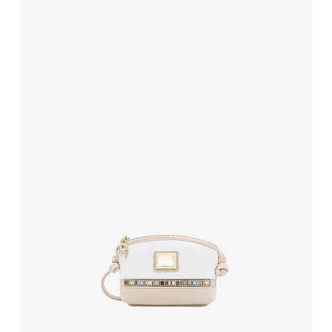 Bolsa de Senhora Cavalinho Crystal Line - Ref 18900274.05.99_4. Tiracolo com fecho de correr personalizado. Incluiu bolso com fecho de correr no interior.