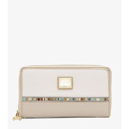 Carteira de Senhora Cavalinho Crystal Line - Ref 28900213.05.99. Capacidade para doze cartões de crédito. Inclui mini alça extra para usar como clutch.