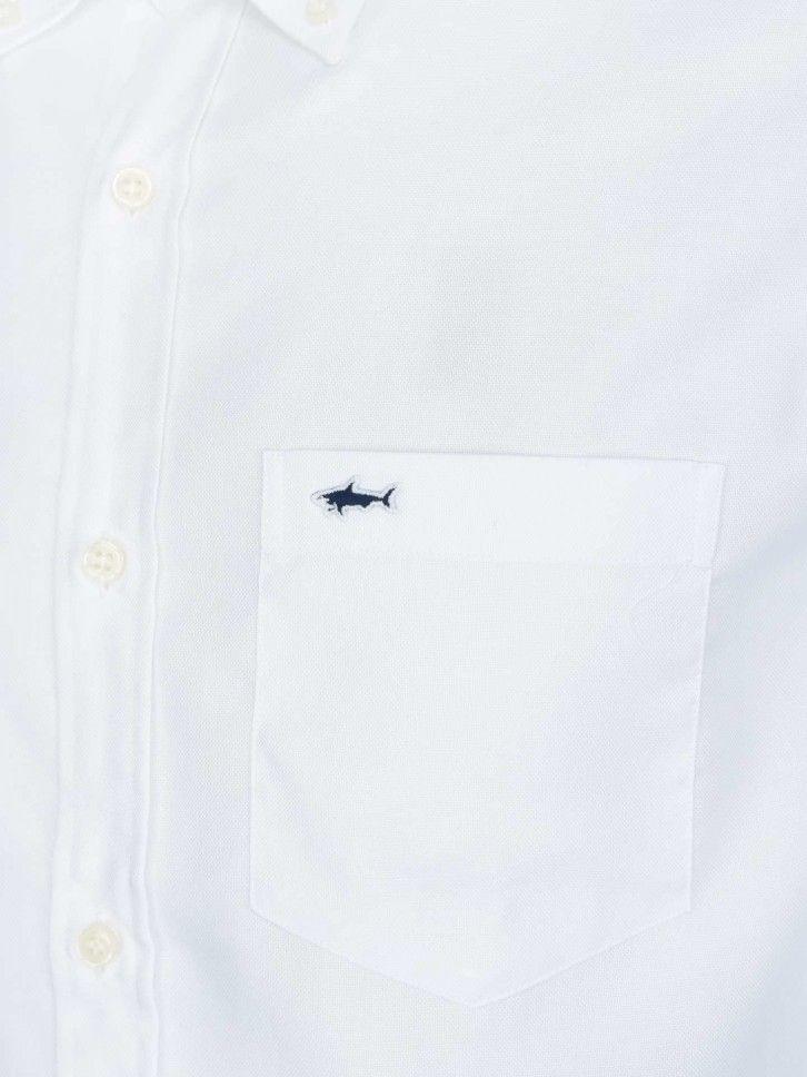 Camisa Paul & Shark clássica em oxford C0P3000
