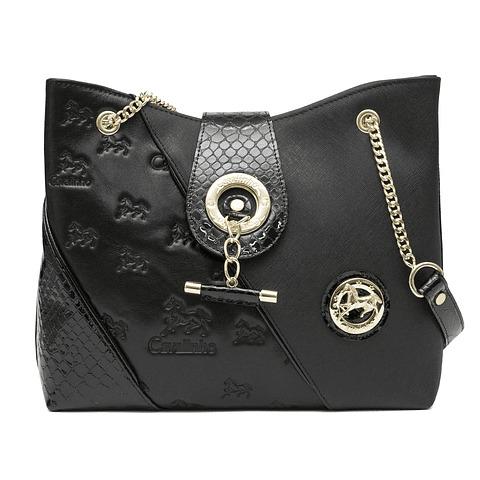 Bolsa de ombro de senhora Cavalinho Black Horse SKU: 18500258.01.99