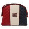 """Bolsa de Tiracolo Cavalinho Tricolor """"Another Skin"""". Em 100% pele genuína, inclui bolso para o telemóvel e compartimento extra com fecho no exterior."""