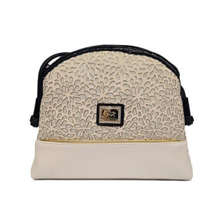 Bolsa de tiracolo de senhora Cavalinho Gold SKU: 18930005.22.99 com fecho de correr personalizado . Possui um bolso para telemóvel.