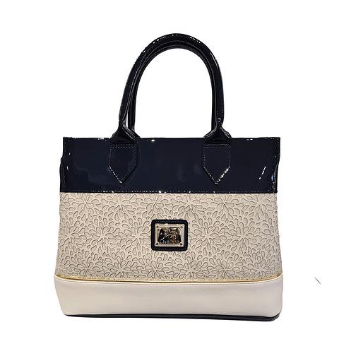 Bolsa de mão de senhora Cavalinho Gold SKU: 18930341.22.99. com alça de ombro extra A divisão principal possui seis compartimentos.