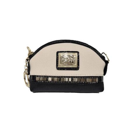 Moedeiro Cavalinho Senhora SKU: 28900252.21.99 prático com fecho de correr personalizado, com uma argola para colocar chaves no seu interior.