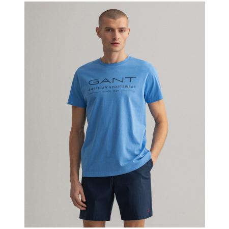 T-Shirt com Logo GANT, confeccionada em 100% algodão ref. 2003093