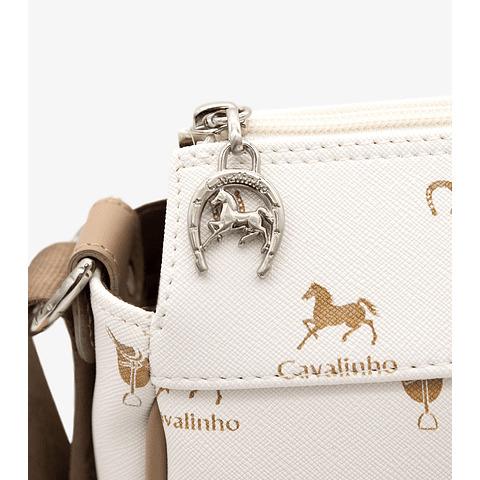 Bolsa tiracolo de senhora Cavalinho Country Side white SKU: 18800344.06.99