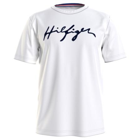 T-shirt de homem Tommy Hilfiger de algodão orgânico
