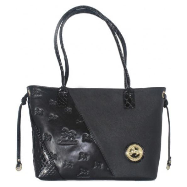 Bolsa de ombro de senhora Cavalinho Black Horse SKU: 18500359.01.99