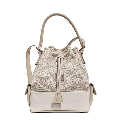 Bolsa de senhora Cavalinho Gold Bege SKU: 18500360.31.99.com dupla funcionalidade Escolha entre a opção de mão ou a alça de ombro regulável.