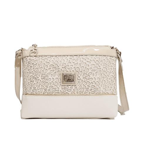 Bolsa tiracolo de senhora Cavalinho Gold SKU: 18930374.31.99. com asa regulável Dispõe de um fecho e possui um compartimento para telemóvel.