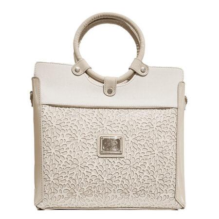 Bolsa de mão de senhora Cavalinho Gold SKU: 18930378.31.99. com alça de ombro extra A divisão principal apresenta um fecho de correr.