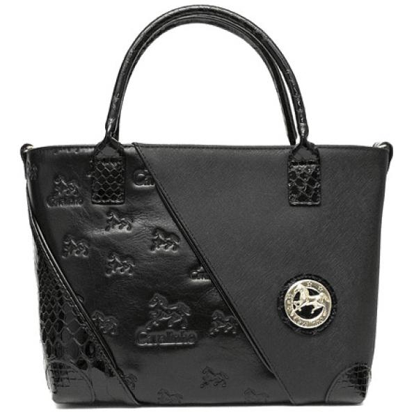 Bolsa de mão de senhora Cavalinho Black Horse SKU: 18500158.01.99