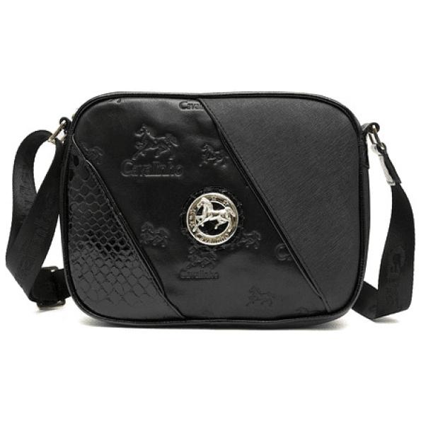 Bolsa de tiracolo de senhora Cavalinho Black Horse SKU: 18500190.01.99