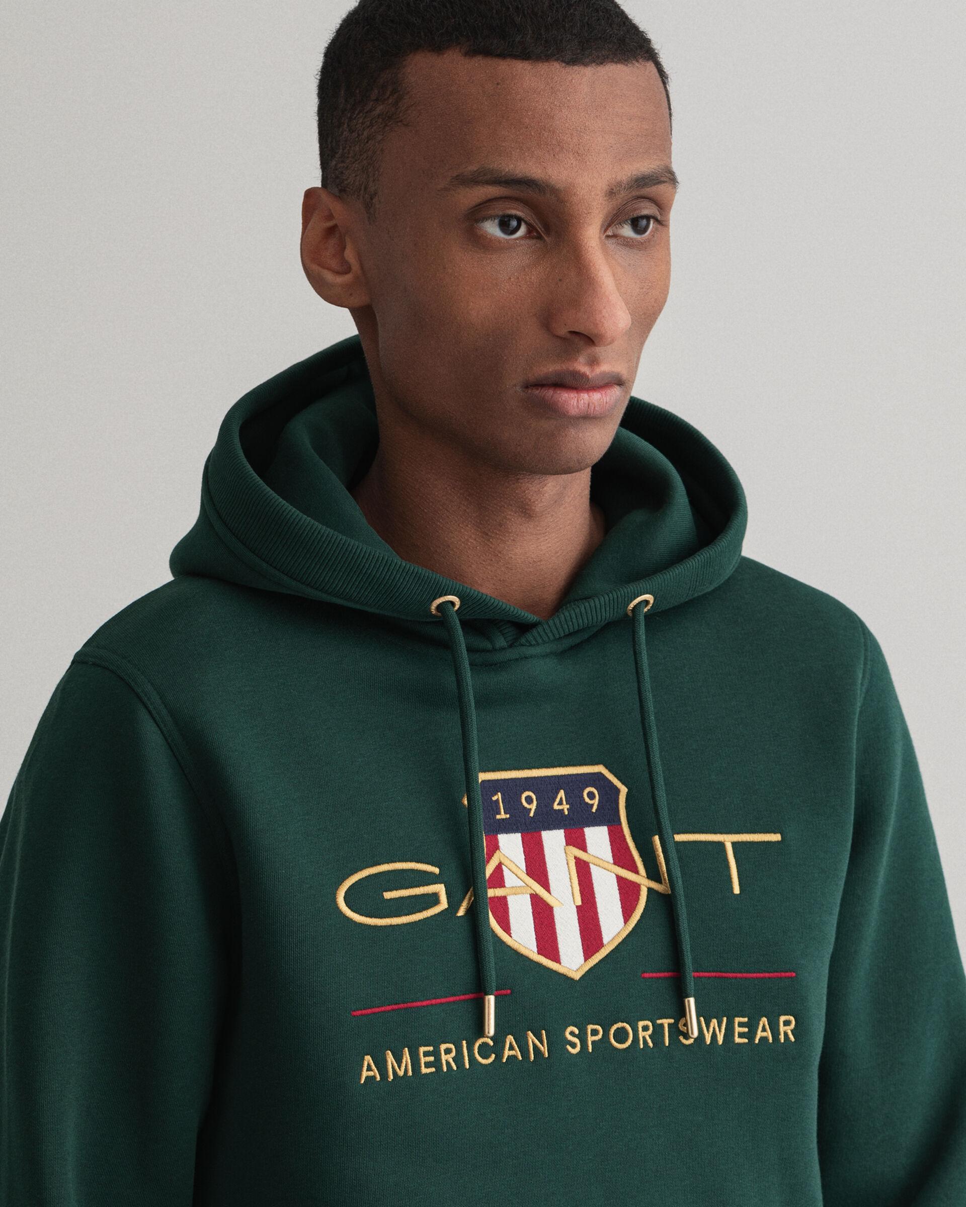 Sweat Gant com capuz Archive Shield