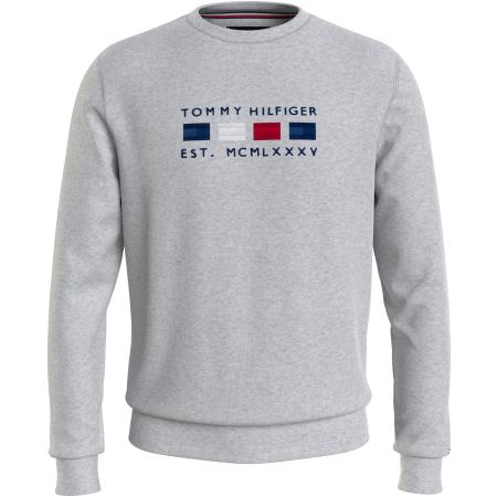 Sweat Tommy Hilfiger em decote redondo Logo Embroider