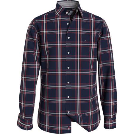 Camisa Tommy Hilfiger em xadrez MW0MW20588